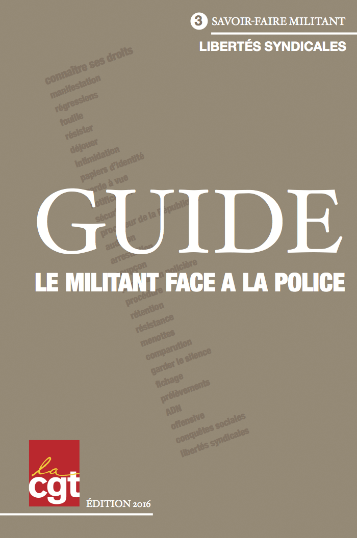 guide face police